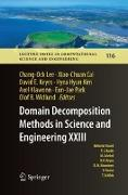 Cover-Bild zu Lee, Chang-Ock (Hrsg.): Domain Decomposition Methods in Science and Engineering XXIII
