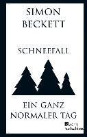 Cover-Bild zu Beckett, Simon: Schneefall & Ein ganz normaler Tag (eBook)
