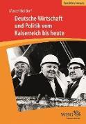 Cover-Bild zu Deutsche Wirtschaft und Politik (eBook) von Boldorf, Marcel