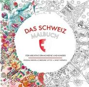 Cover-Bild zu Moon, Joanna: Das Schweiz-Malbuch