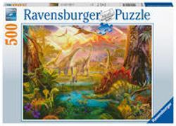 Cover-Bild zu Ravensburger Puzzle - Im Dinoland - 500 Teile