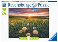 Cover-Bild zu Ravensburger Puzzle - Pusteblumen im Sonnenuntergang - Nature Edition 500 Teile