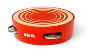 Cover-Bild zu BRIO 30263 Schellentrommel - Spielerisch ein Gefühl für Rhythmus bekommen - Musikinstrument für Kinder ab 18 Monaten