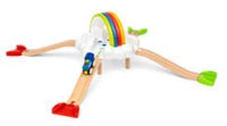 Cover-Bild zu BRIO 36002 Mein erstes Bahn Regenbogen Set - Aufregendes Eisenbahn-Spiel in den Wolken mit kindgerechten Licht- und Soundeffekten - Passend zu allen Produkten der BRIO World und empfohlen für Kinder ab 18 Monaten