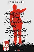 Cover-Bild zu Simon, Fritz B.: Anleitung zum Populismus (eBook)