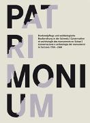 Cover-Bild zu Bundesamt für Kultur, Bern (Hrsg.): Patrimonium