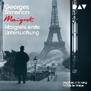 Cover-Bild zu Simenon, Georges: Maigrets erste Untersuchung (Audio Download)