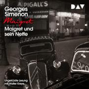 Cover-Bild zu Simenon, Georges: Maigret und sein Neffe