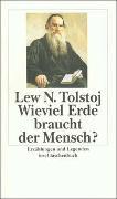 Cover-Bild zu Tolstoj, Lew: Wieviel Erde braucht der Mensch?