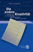 Cover-Bild zu Sanmann, Angela: Die andere Kreativität