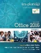 Cover-Bild zu Poatsy, Mary Anne: Exploring Microsoft Office 2016 Volume 1