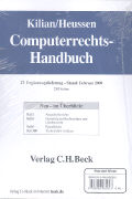 Cover-Bild zu Kilian, Wolfgang: Computerrechts-Handbuch