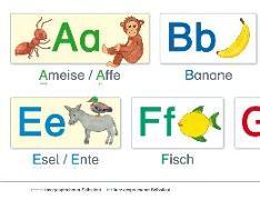 Cover-Bild zu Fels, Bengt: Lernposter. Buchstaben und Laute von A bis Z