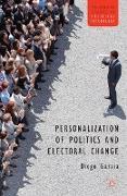 Cover-Bild zu Garzia, D.: Personalization of Politics and Electoral Change