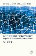 Cover-Bild zu Erkkilä, T.: Government Transparency