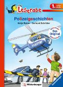 Cover-Bild zu Reider, Katja: Polizeigeschichten - Leserabe 1. Klasse - Erstlesebuch für Kinder ab 6 Jahren