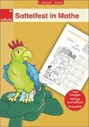 Cover-Bild zu Woicke, Melanie (Illustr.): Sattelfest in Mathe, 4. Schuljahr