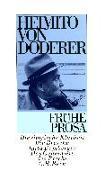 Cover-Bild zu Frühe Prosa - Das erzählerische Werk von Doderer, Heimito von
