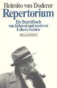 Cover-Bild zu Repertorium von Doderer, Heimito von