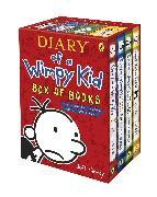 Cover-Bild zu Kinney, Jeff: Diary of a Wimpy Kid Box of Books
