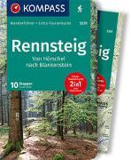 Cover-Bild zu wille, Franz: KOMPASS Wanderführer Rennsteig