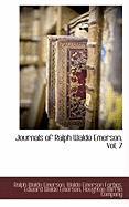 Cover-Bild zu Emerson, Ralph Waldo: Journals of Ralph Waldo Emerson, Vol. 7
