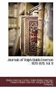 Cover-Bild zu Forbes, Waldo Emerson: Journals of Ralph Waldo Emerson 1820-1876, Vol. 9