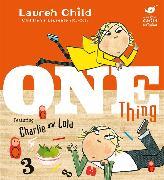 Cover-Bild zu Child, Lauren: One Thing