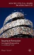 Cover-Bild zu Stritzel, H.: Security in Translation