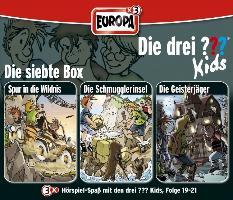 Cover-Bild zu Die drei ??? Kids 3er Box 07. Folge 19-21