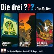Cover-Bild zu Die drei ??? 3er Box 39 Folge 116-118