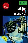 Cover-Bild zu PONS Die drei ??? Fragezeichen Bite of the Beast mit Audio (eBook) von Erlhoff, Kari