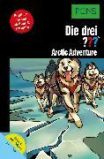 Cover-Bild zu PONS Die drei ??? Fragezeichen Arctic Adventure mit Audio (eBook) von Erlhoff, Kari