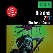 Cover-Bild zu PONS Die drei ??? Fragezeichen Master of Death (Audio Download) von Erlhoff, Kari