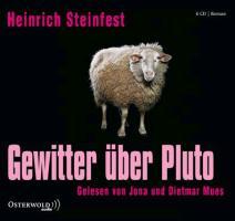 Cover-Bild zu Steinfest, Heinrich: Gewitter über Pluto
