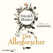 Cover-Bild zu Steinfest, Heinrich: Der Allesforscher