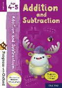 Cover-Bild zu Clare, Giles: Progress with Oxford: Addition and Subtraction Age 4-5