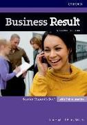 Cover-Bild zu Hughes, John: Business Result: Starter: Student's Book with Online Practice