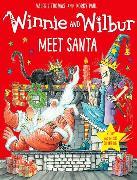 Cover-Bild zu Thomas, Valerie: Winnie and Wilbur Meet Santa with audio CD