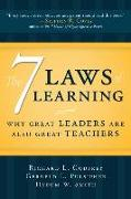 Cover-Bild zu Godfrey, Richard L.: 7 Laws of Learning: Why Great Leaders Are Also Great Teachers