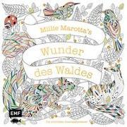Cover-Bild zu Millie Marotta's Wunder des Waldes - Die schönsten Ausmalabenteuer von Marotta, Millie