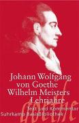 Cover-Bild zu Goethe, Johann Wolfgang: Wilhelm Meisters Lehrjahre