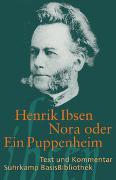 Cover-Bild zu Ibsen, Henrik: Nora oder Ein Puppenheim