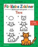 Cover-Bild zu Für kleine Zeichner - Tiere von Fauser, Nico