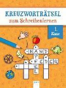Cover-Bild zu Seeberg, Helen: Kreuzworträtsel zum Schreibenlernen. 1. Klasse