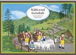 Cover-Bild zu Wälti wird Geissbub von Ferrari, Esther