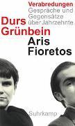 Cover-Bild zu Grünbein, Durs: Verabredungen