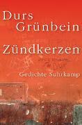 Cover-Bild zu Grünbein, Durs: Zündkerzen