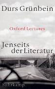 Cover-Bild zu Grünbein, Durs: Jenseits der Literatur