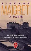 Cover-Bild zu Simenon, Georges: Maigret à Paris